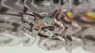 Çin'deki deprem böyle görüntülendi