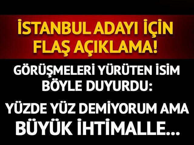 CHP İstanbul adayı salı günü belli olacak!