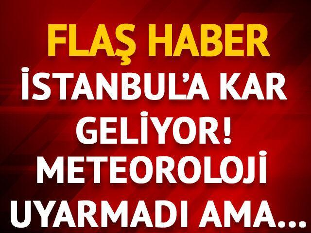Meteoroloji'nin stadyum tahminlerinde 'İstanbul'da kar' detayı
