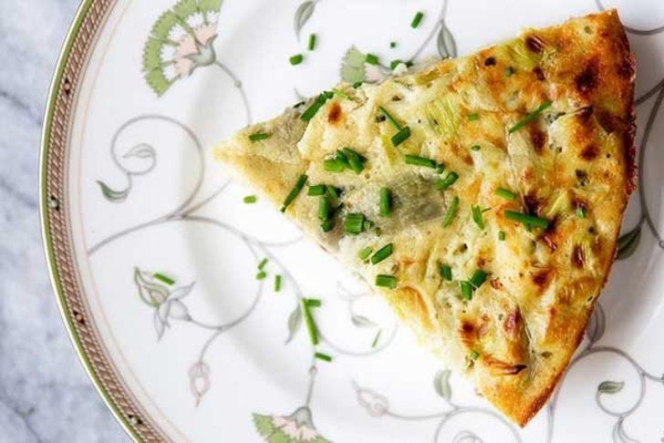 İtalyan omleti tarifi: Mantarlı keçi peynirli İtalyan şahanesi