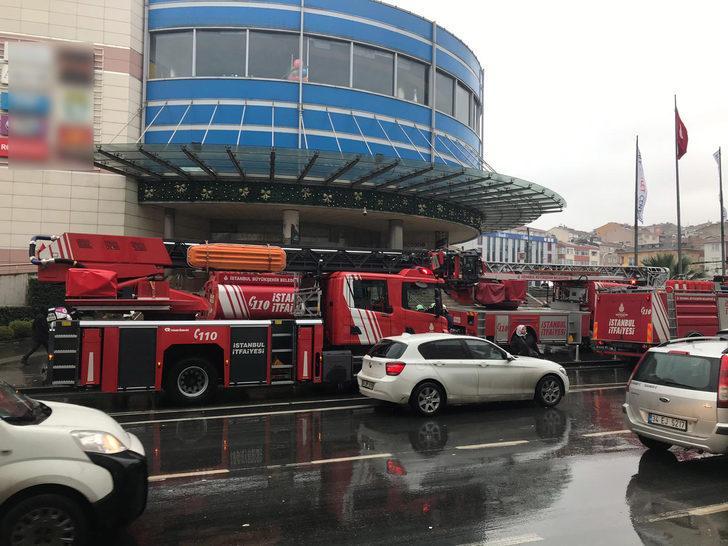 AVM'deki spor salonunda yangın 1