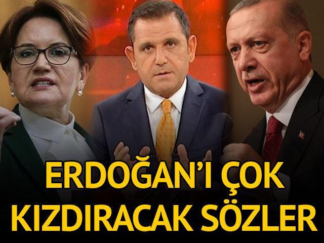 Meral Akşener'den Erdoğan'a 'Fatih Portakal' eleştirisi