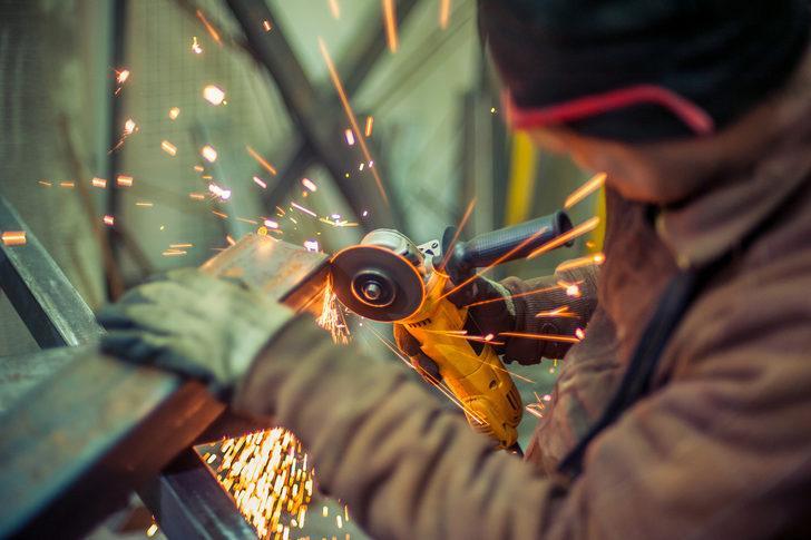 Sanayi üretim endeksi yüzde 8,6 arttı