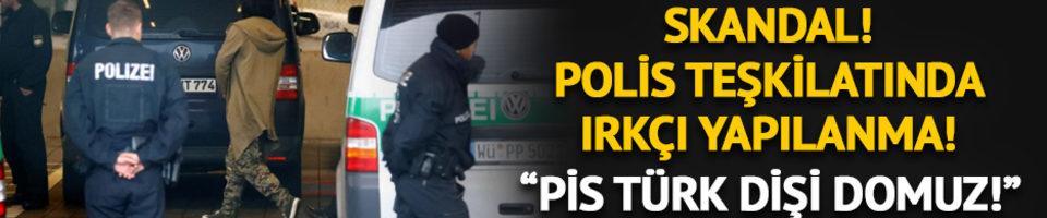 Alman polis teşkilatında ırkçı yapılanma! Skandal böyle ortaya çıktı