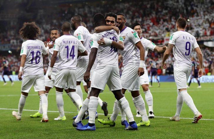 Al Ain FIFA Kulüpler Dünya Kupası'nda finale yükseldi