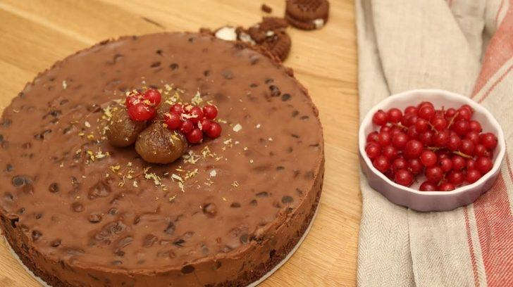 Çikolatalı Kestane Efsane Cheesecake