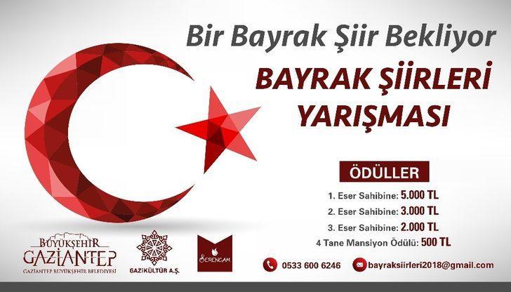 Bir Bayrak şiir Bekliyor Adlı şiir Yarışması Sonuçlandı Gaziantep