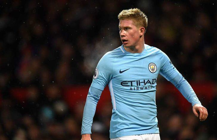 8- Kevin de Bruyne - Manchester City