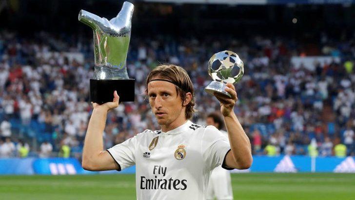 1- Luka Modric - Real Madrid