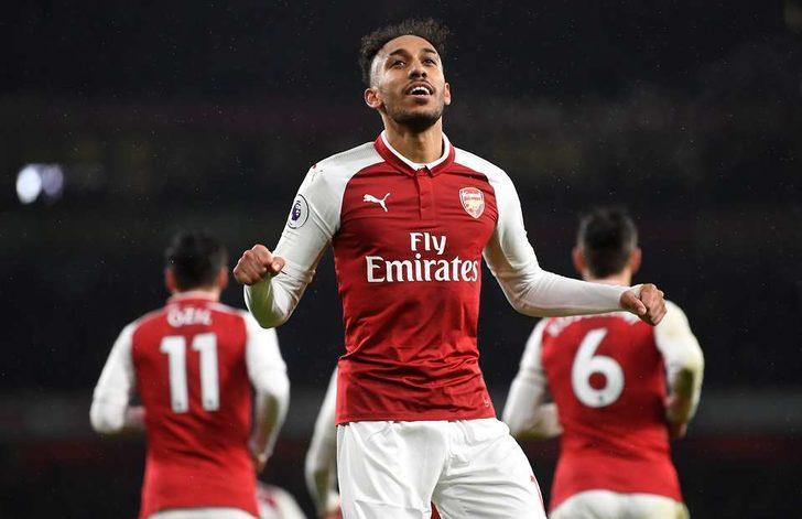 55- Pierre-Emerick Aubameyang - Arsenal