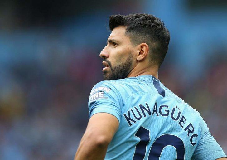 15- Sergio Agüero - Manchester City