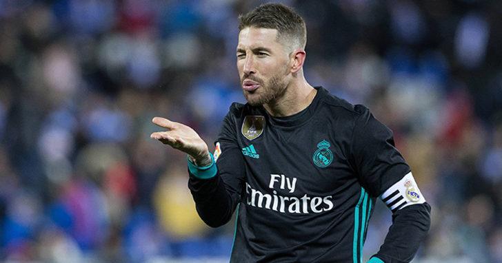 17- Sergio Ramos - Real Madrid