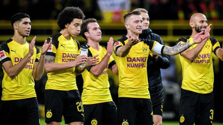 Borussia Dortmund ilk yarıyı galibiyetle tamamladı