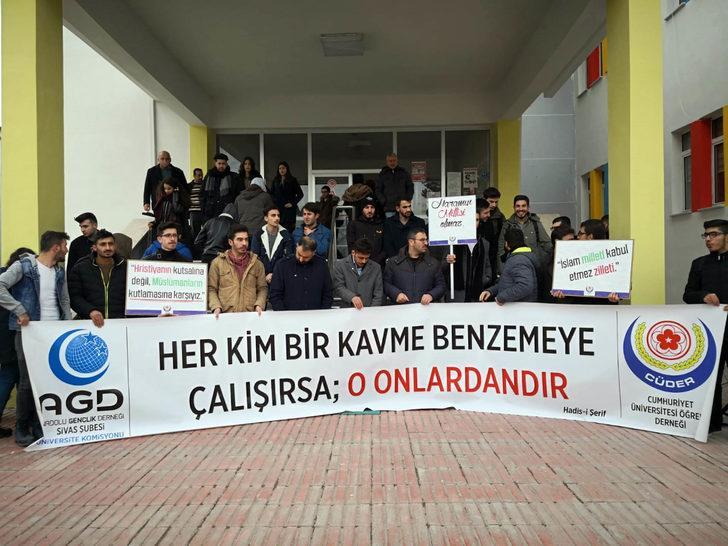 Cumhuriyet Üniversitesi Öğrenci Derneğinden Milli Piyango ve yılbaşı tepkisi: Sen Müslümansın 21