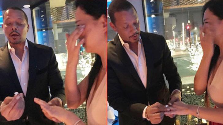 Terrence Howard'dan 3 yıl önce boşandığı eşine yeniden evlenme teklif