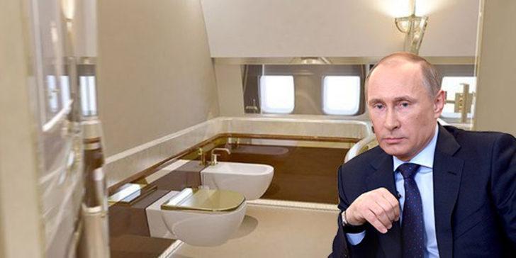 O liderin tuvaleti altından!