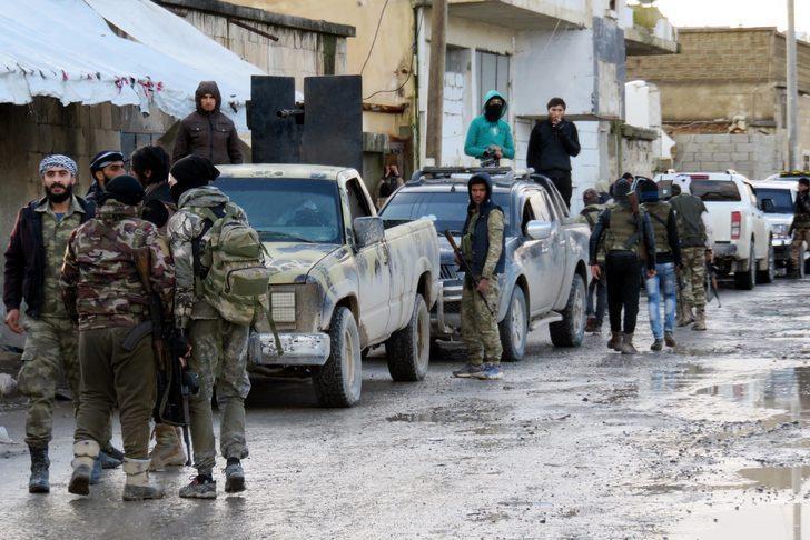 Özgür Suriye Ordusu Menbiç'e hareket etti!