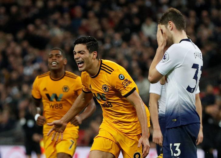 Tottenham 1 - 3 Wolverhampton (Premier Lig)