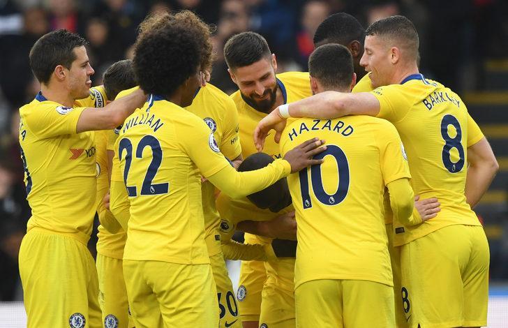 Crystal Palace 0 - 1 Chelsea (Premier Lig)