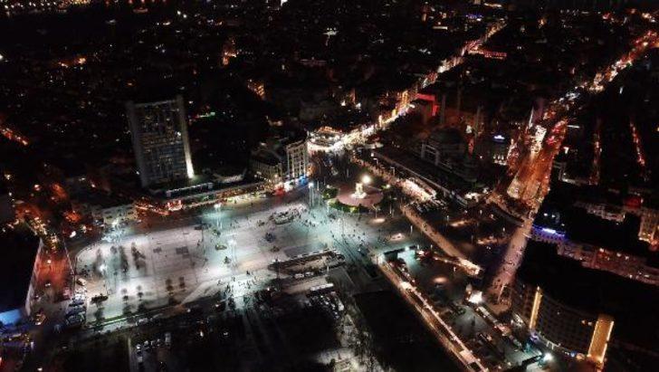 Taksim Meydanı'nda güvenlik önlemleri arttırıldı!