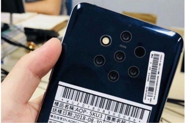 Nokia 9 ekran altı parmak izi okuyucusu ile gelecek