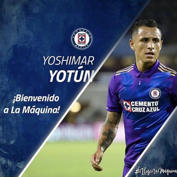 Yoshimar Yotun - Orlando City > Cruz Azul | BONSERVİS BEDELİ: 3.5 milyon Euro