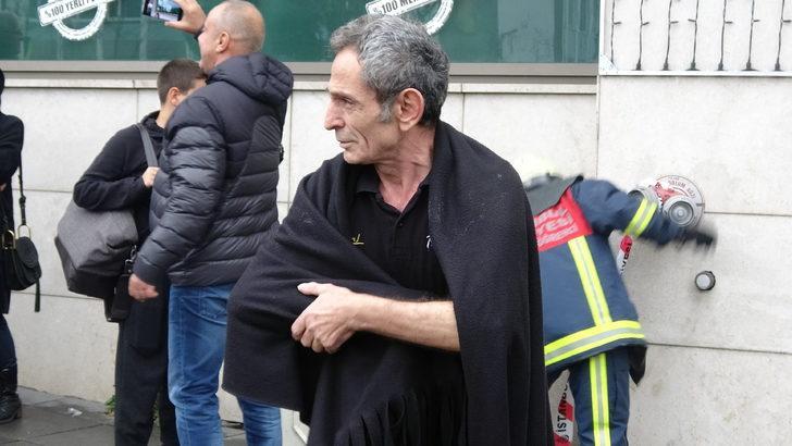 Fotoğraflar // Beyoğlu'nda otelde yangın
