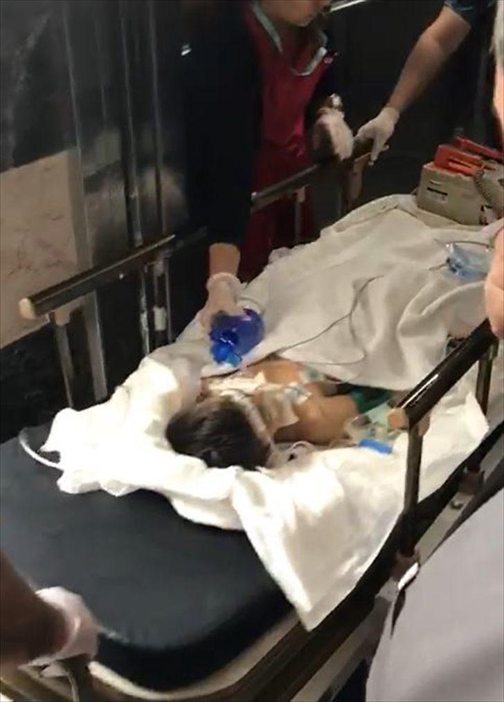 Çocuğuna şiddet uyguladığı iddiasıyla tutuklandı