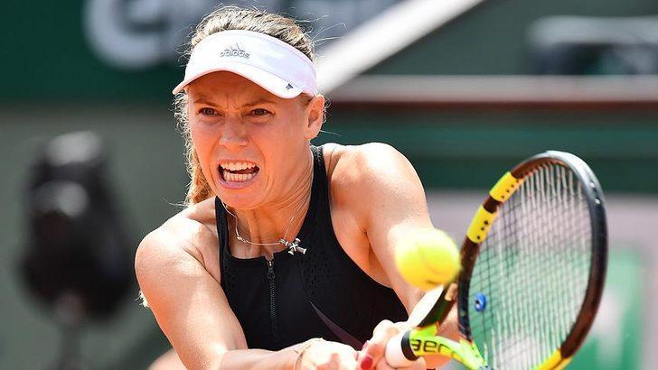 Caroline Wozniacki, Fransa Açık'ta elendi