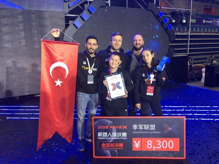 Bursa Robot takımı dünya üçüncüsü oldu