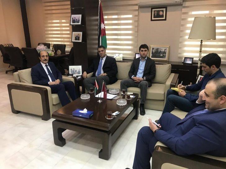 Rektör Polat, Ürdün Büyükelçisini ziyaret etti