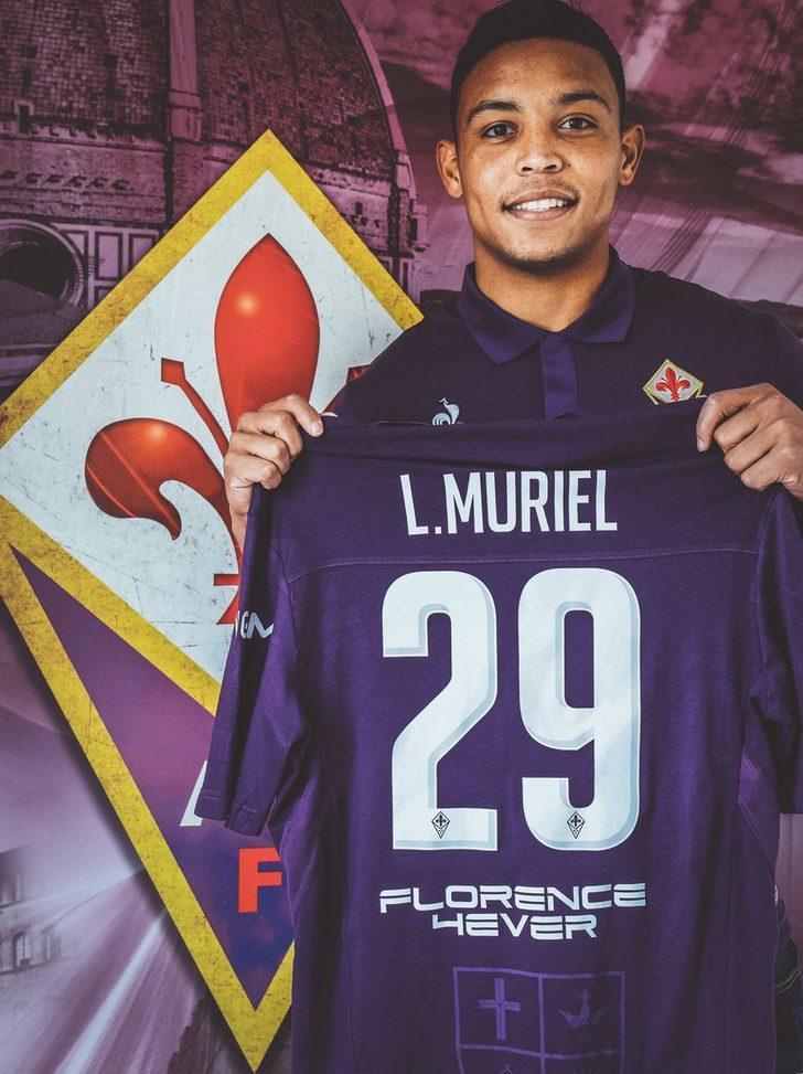 Luis Muriel - Sevilla > Fiorentina (Kiralık)