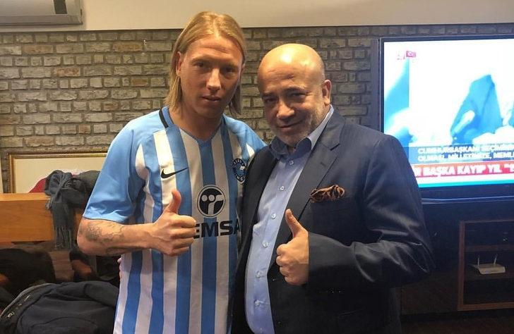 Adana Demirspor Jonathan Legear ile 1.5 yıllık sözleşme imzaladı