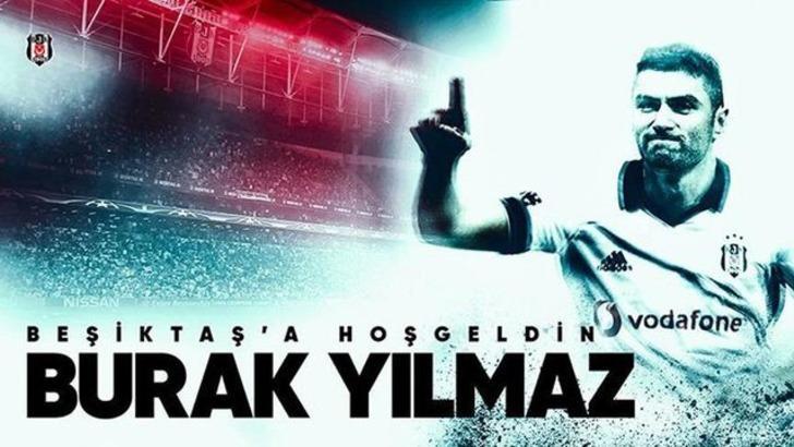 Burak Yılmaz - Trabzonspor > Beşiktaş | BONSERVİS BEDELİ: 8 milyon 429 bin 708 TL