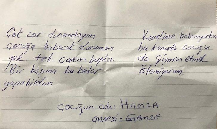 Anne, 3 yaşındaki oğlunu AVM'de cebine not bırakıp terk etti