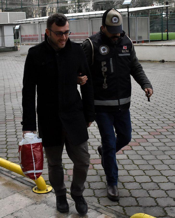 Gaybubet evinde yakalanan FETÖ şüphelisi çift tutuklandı