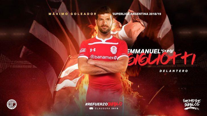 Emanuel Gigliotti - Independiente > Toluca | BONSERVİS BEDELİ: 3 milyon Euro