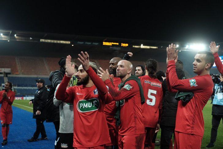 Türk işçiler tarafından kurulan Olympique Strasbourg Fransa Kupası'na veda etti