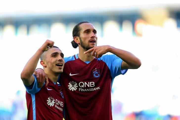 Trabzonspor'un en değerli isimleri Yusuf Yazıcı ve Abdülkadir Ömür