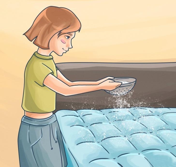 Yatağa karbonat dökün ve olacaklara hazır olun