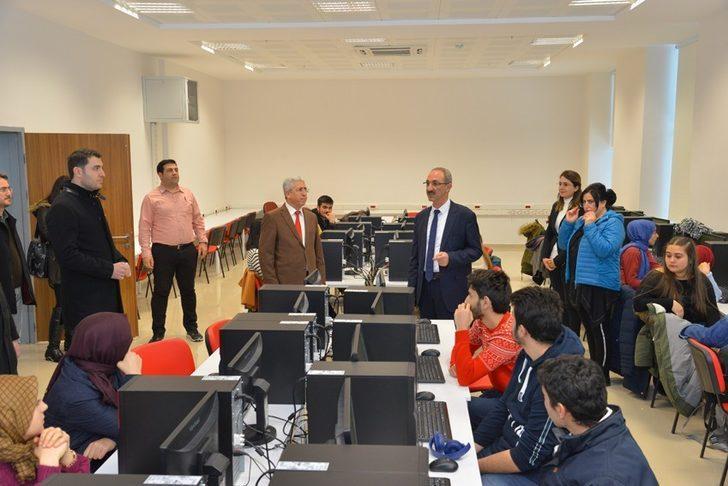 AYDEP kapsamında ilk elektronik sınav yapıldı