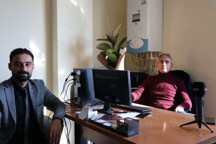 Lokman Hekim Van Hastanesinden İHA'ya ziyaret