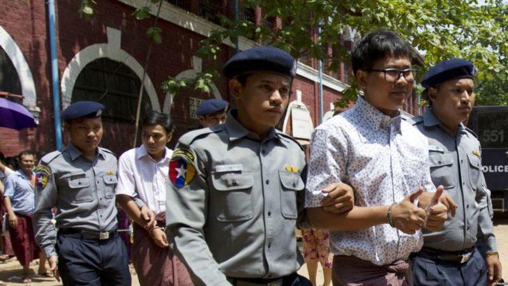 Myanmar'da Mahkeme Reuters Muhabirlerini Serbest Bırakmadı