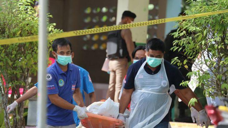 Tayland'da Okula Saldırı 4 Ölü
