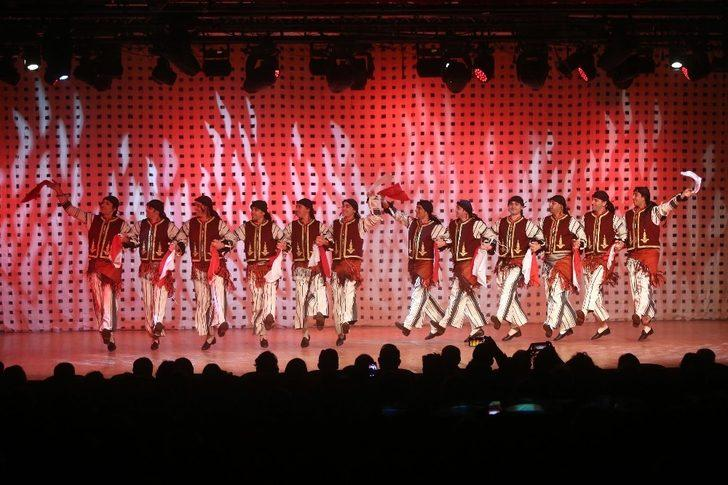Anadolu'nun eşsiz dansları Yenimahalle'de sahnelendi