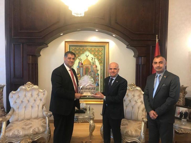 Rektör Polat, 4 ülkenin Ankara büyükelçilerini ziyaret etti