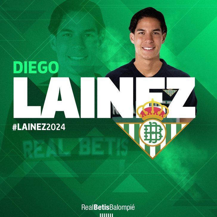 Diego Lainez - Club America > Real Betis | BONSERVİS BEDELİ: 14 milyon Euro