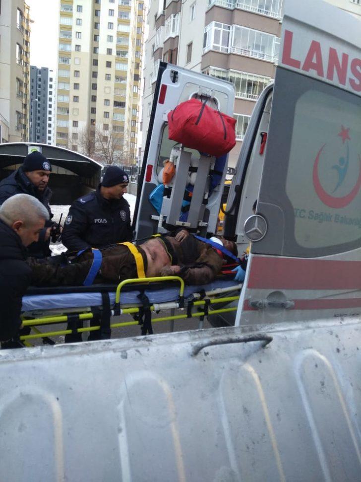 Hırsızlık için girdiği trafoda akıma kapılarak yaralandı