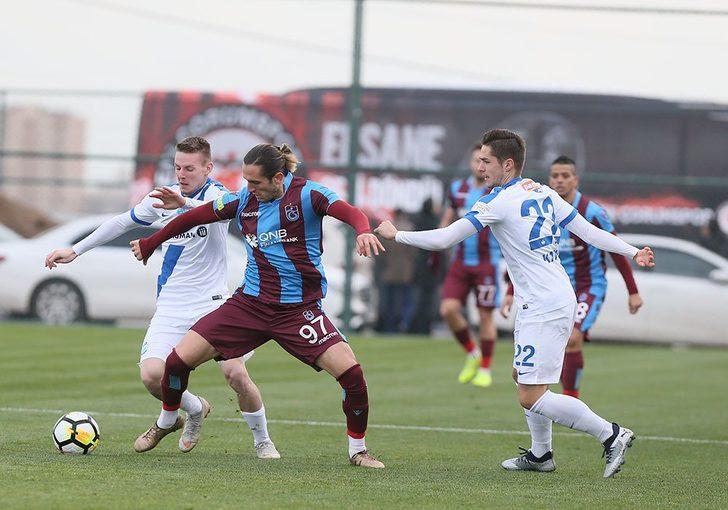 Trabzonspor 0 - 2 MTK Budapeşte