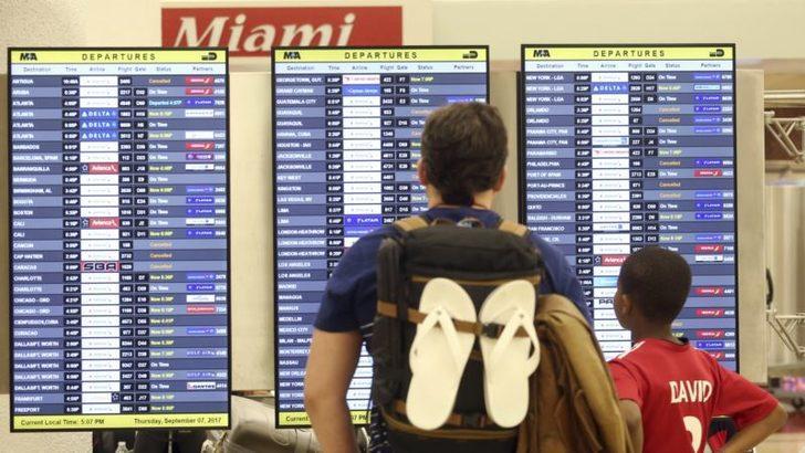 Hükümetin Kapanması Miami Havaalanı'nı Etkiledi